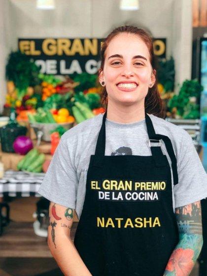 """Natasha, la ganadora de la sexta temporada de """"El gran premio de la cocina"""""""