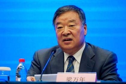 Liang Wannian, una de las cabezas del panel de expertos de la OMS en China (REUTERS/Aly Song)