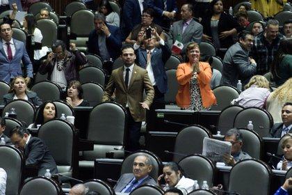 Diputados del PRI rechazaron la medida y las acusaciones de Morena sobre la condonación de impuestos en el sexenio de Peña Nieto (Foto: Cuartoscuro)