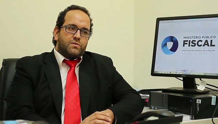El fiscal Abel Córdoba