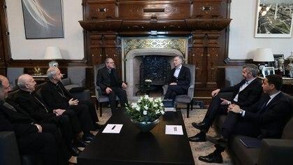 Macri se reunió con la comisión ejecutiva de la Conferencia Episcopal Argentina (CEA)