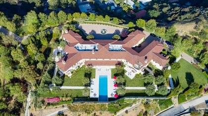 La mansión de los duques de Sussex en Los Ángeles (The Grosby Group)