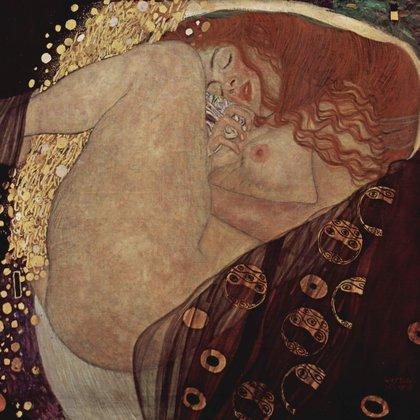 """""""Dánae"""" (1907) en Colección privada, Viena"""