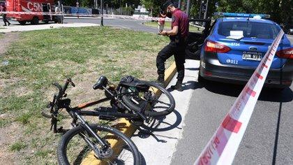 La bicicleta de la víctima (Maximiliano Luna)