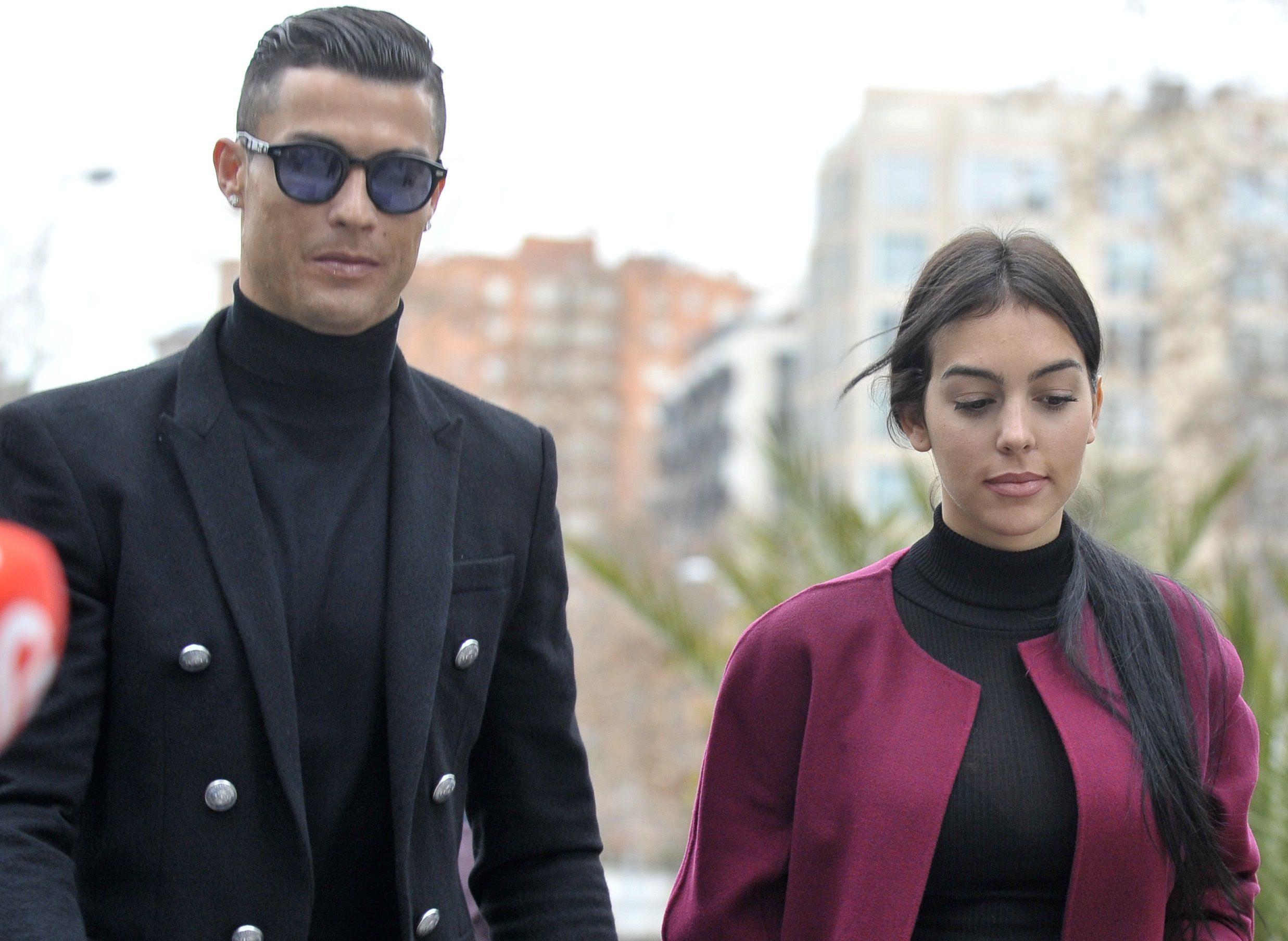 Por la pandemia la familia se instaló en Portugal, aunque Cristiano pasa la mayor parte de su semana en Turín (Europa Press)