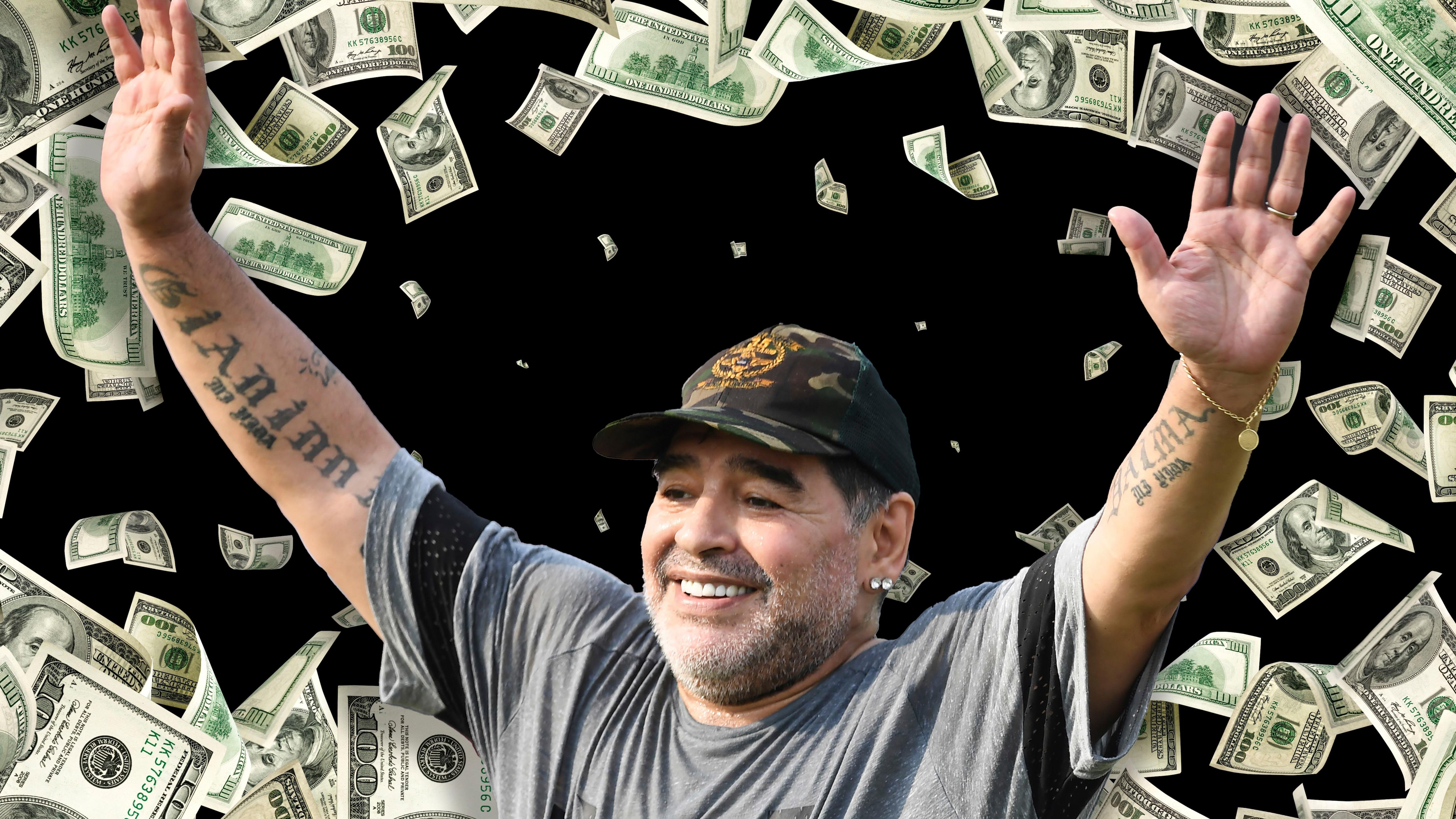Portada Maradona