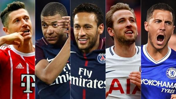 Lewandowski, Mbappé, Neymar, Kane y Hazard están en la mira de Real Madrid por si se marcha Cristiano a la Juventus