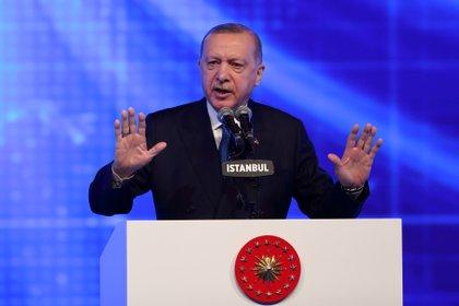 El presidente turco Tayyip Erdogan (REUTERS/Murad Sezer/archivo)