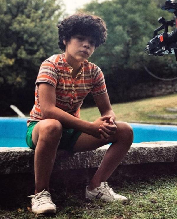 """Balthazar debutó en cine a los 8 años: """"Antes, quería ser futbolista, ahora quiero ser actor"""""""