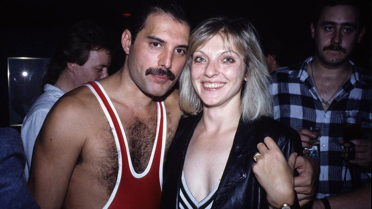 Freddie Mercury and the 38th Anniversary of Mary Austin (Grosby)