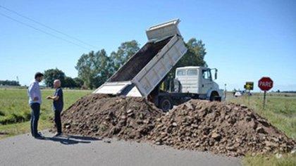 Olavarría fue uno de los municipios que blindó los accesos