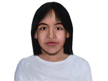 El nuevo identikit de Sofia Herrera que difundió la Justicia. Acá se la ve con pelo corto