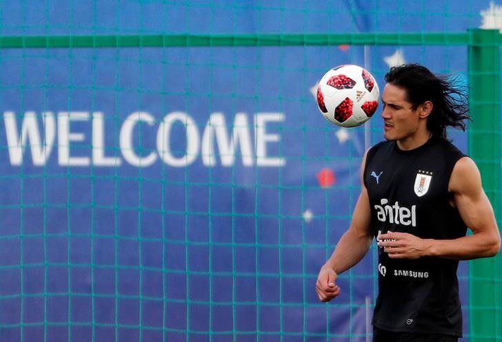 Edinson Cavani fue una de las últimas incorporaciones del Manchester United. Foto: REUTERS/Carlos Barria
