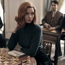 THE QUEEN'S GAMBIT (L to R) ANYA TAYLOR as BETH HARMON in THE QUEEN'S GAMBIT. Cr. CHARLIE GRAY/NETFLIX � 2020