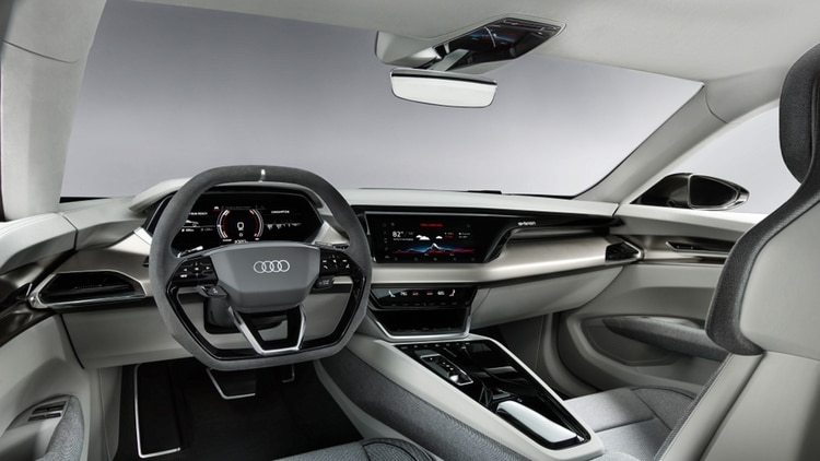 Su habitáculo está configurado para cuatro personas. (Audi)