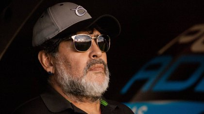 Diego Armando Maradona dirigió a Dorados de Sinaloa en el Ascenso MX (Foto: Cuartoscuro)