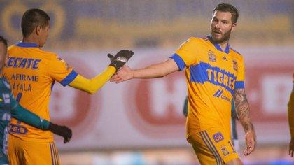 Almada admitió que los de San Nicolás de los Garza son un equipo importante por el plantel y el técnico que poseen (Foto: Twitter/ @TigresOficial)