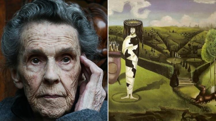 La artista plástica Leonora Carrington era una niña rica y rebelde, además de ser la tercera artista surreal de México (FOTO: ISAAC ESQUIVEL/CUARTOSCURO)