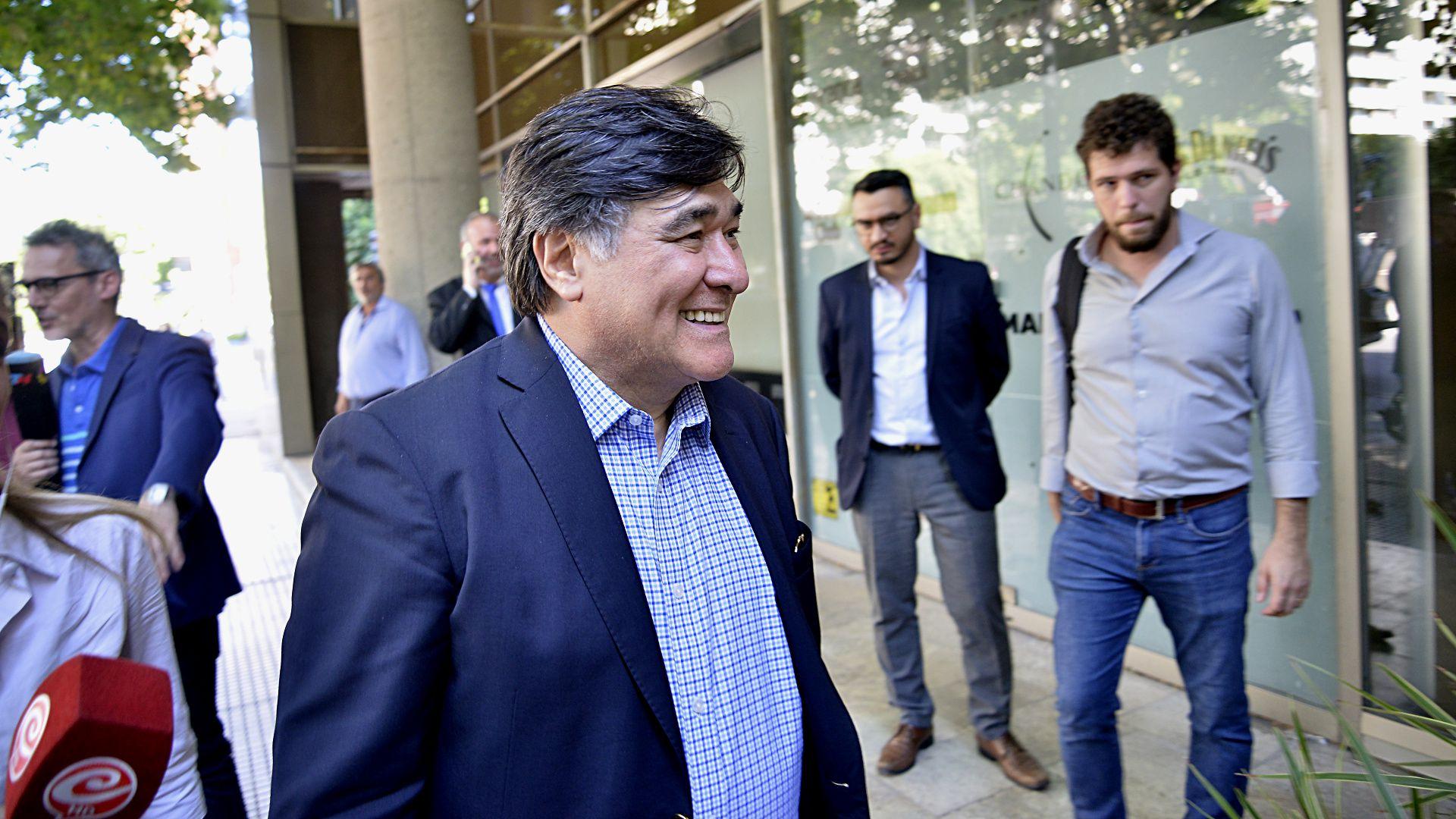 El procurador del Tesoro, Carlos Zannini (Gustavo Gavotti)