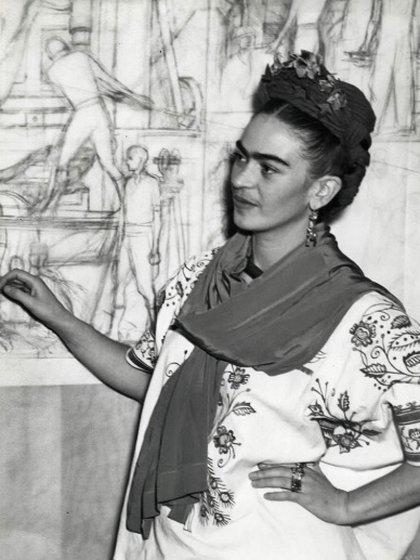 Kahlo destacó en las búsquedas por encima del pintor de La noche estrellada, Vincen van Gogh (Foto: Sitio Web Museo Frida Kahlo)