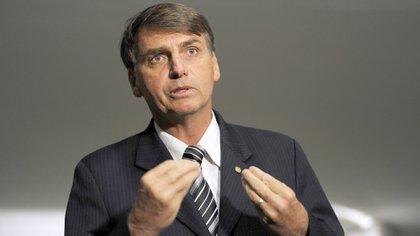 Bolsonaro se hizo famoso por sus polémicas