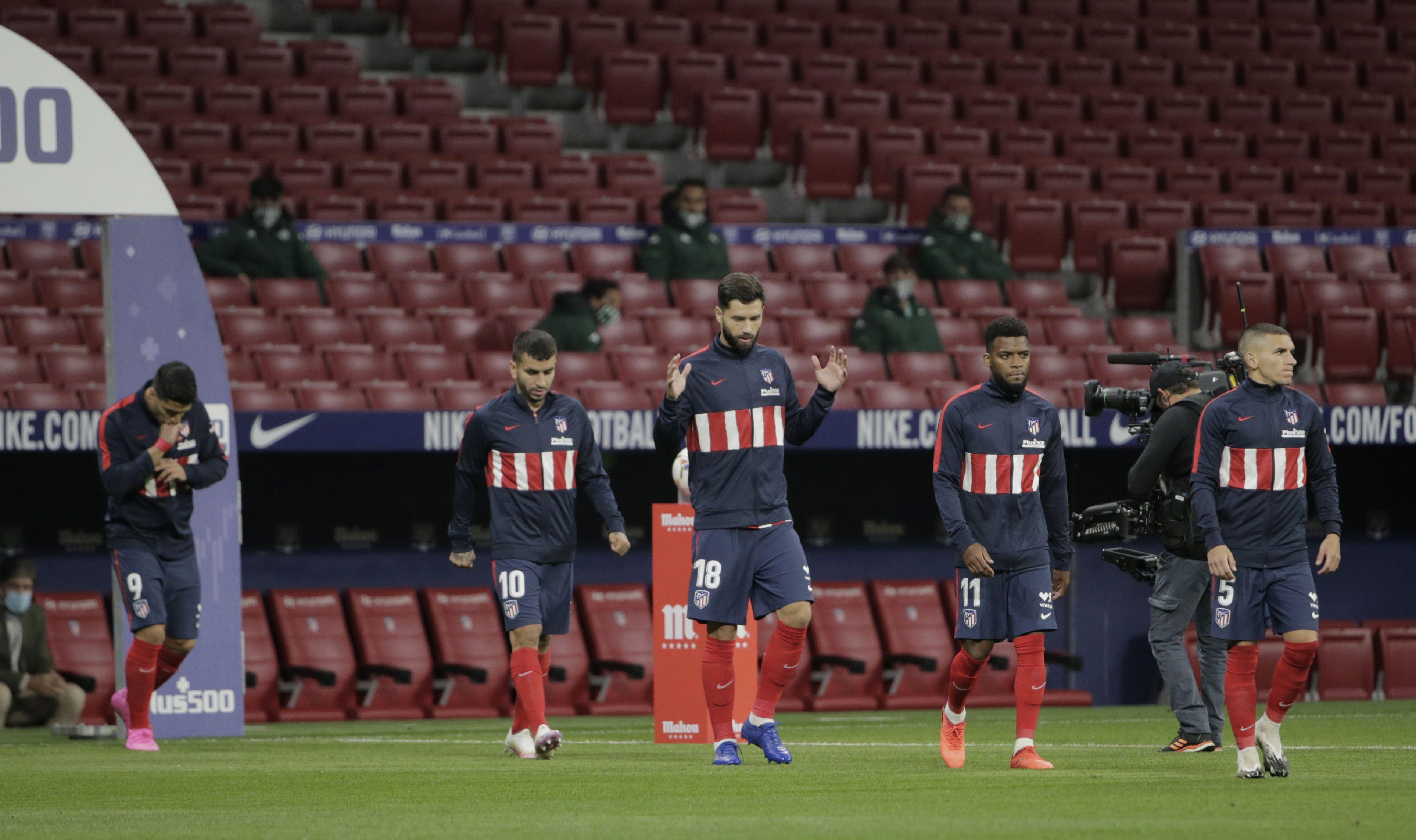 El Atletico de Madrid es líder de La Liga junto con el Real Madrid (Reuters)