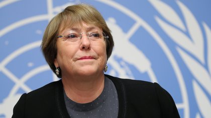 Michelle Bachelet, la Alta Comisionada de Naciones Unidas para los Derechos Humanos (Reuters/ Denis Balibouse)
