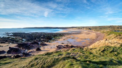 La desgarradora escena de la playa de Dobby en la séptima película fue filmada en Gales en Freshwater West en Pembrokeshire