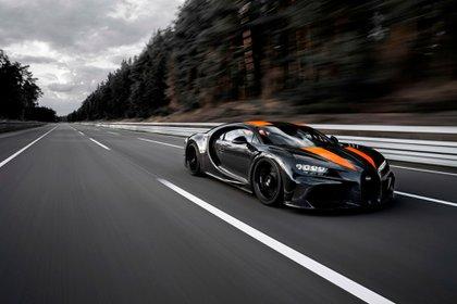 Bugatti Chiron, el auto de serie más rápido del planeta: llegó a los 190,84 km/h.