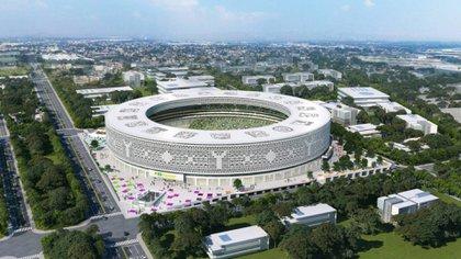 Está cubierto por celdas solares blancas, en alusión a la capital del estado Mérida, conocida como la Ciudad Blanca (Foto: Estadio de Yucatán)