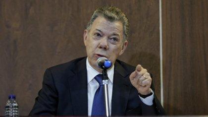 El expresidente Juan Manuel Santos. (Colprensa-Diego Pineda)
