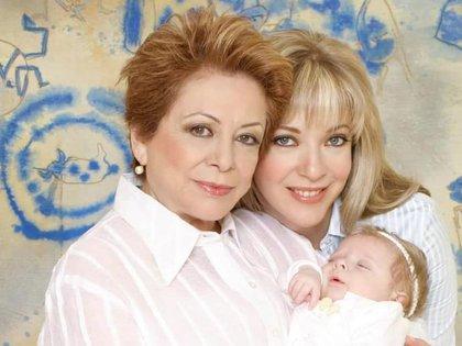 Ofelia Fuentes, madre de Edith González, falleció este sábado (Foto: Instagram@edithgonzalezmx1)