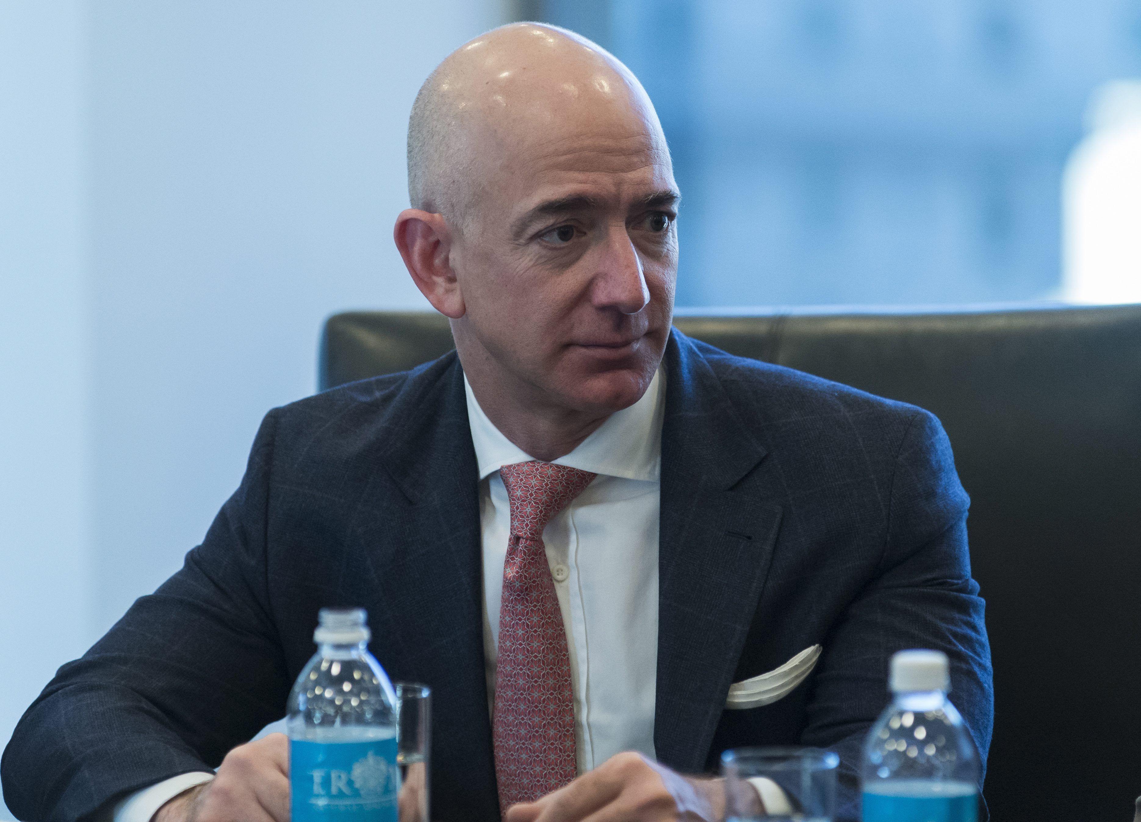 Jeff Bezos. EFE/Albin Lohr-Jones /Archivo