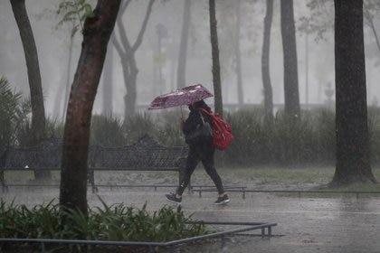 Un canal de baja presión afectará a los estados del centro de la República, donde se pronostican lluvias fuertes (Foto: REUTERS/Henry Romero/Archivo)