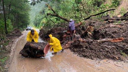 La interacción del Frente Frío y del Huracán Iota provocaran fuertes lluvias  (Foto: @pcivilchiapas)