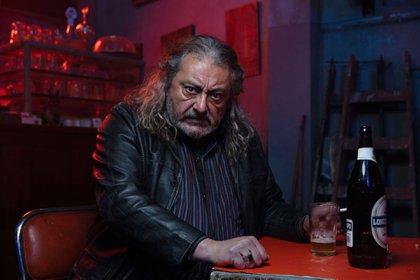 Claudio Rissi como el Tucumano Cortez, en