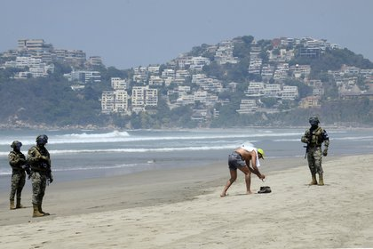 Acapulco (Photo by Francisco Robles / AFP)