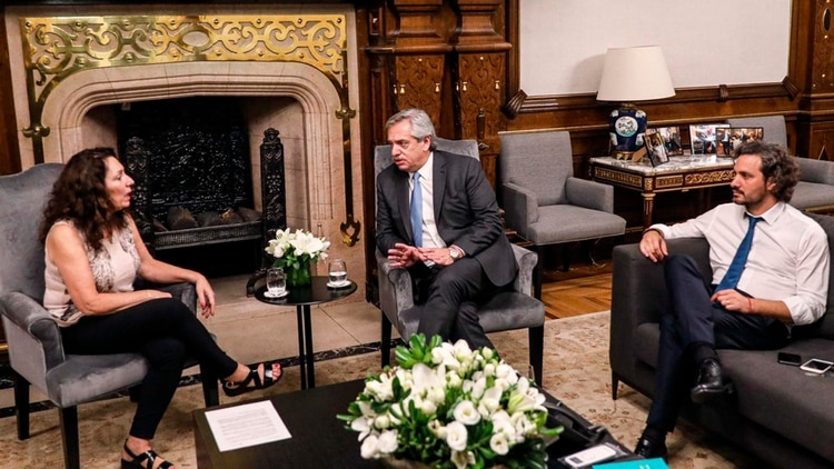 Graciela Caamaño, la interventora de la AFI que designó el Presidente