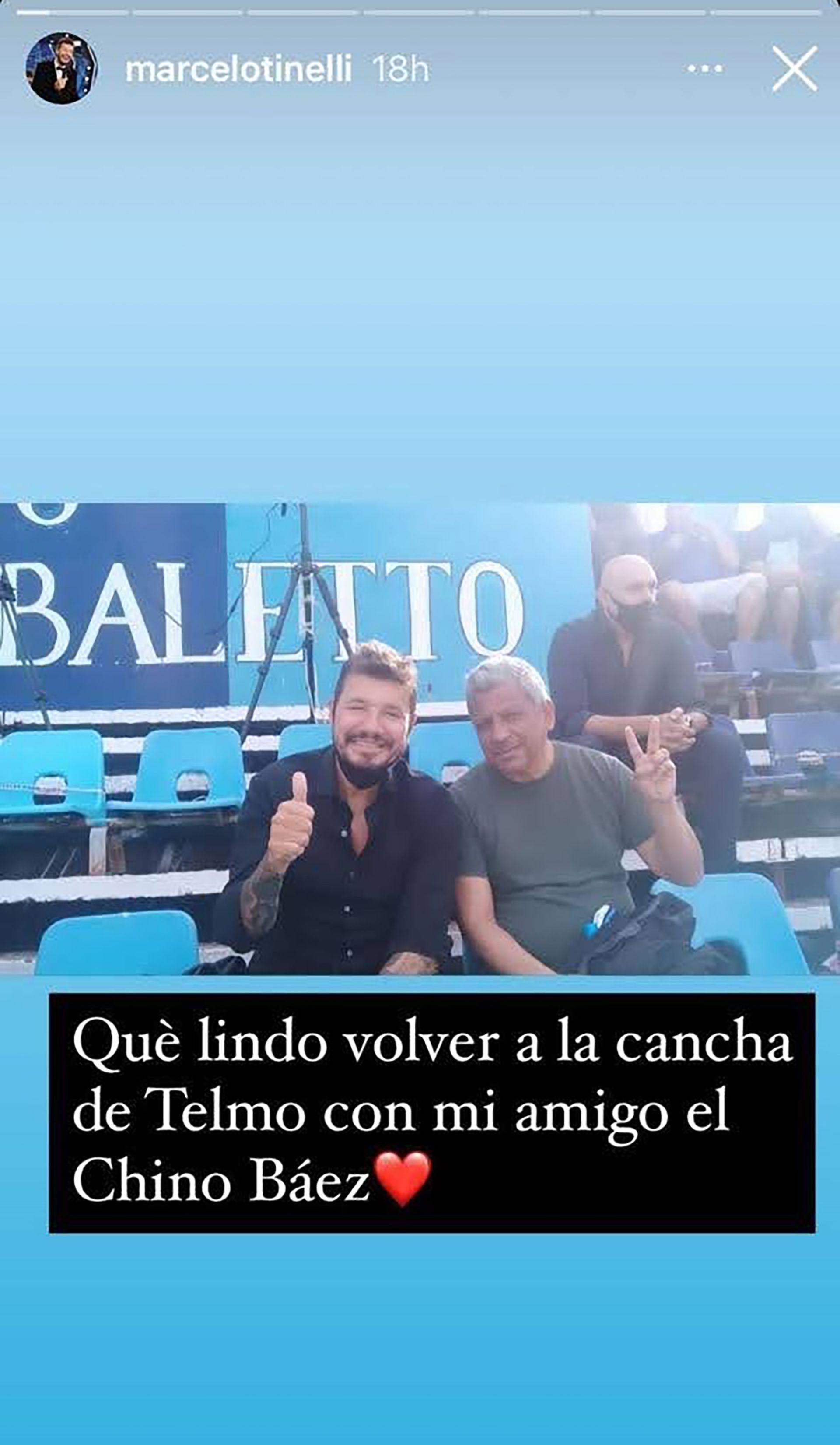 Ex futbolista Chino Báez