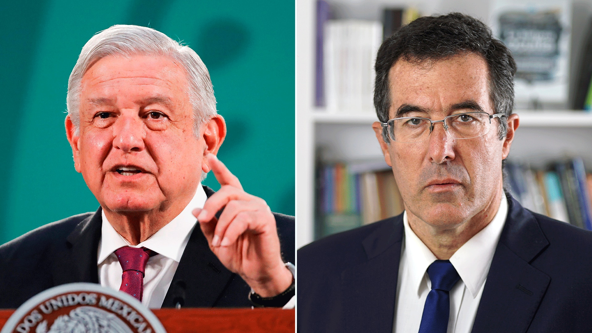 López Obrador y Marcelo Gullo