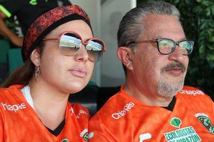 Lopez Chargoy fu el último presidente del club antes de desaparecer  (Foto: Twitter @Chiapas_FC)