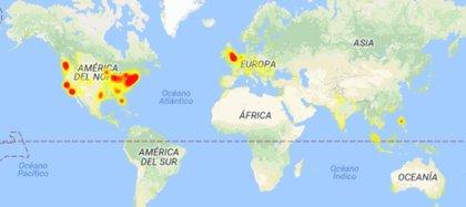 Mapa de Outage-Report