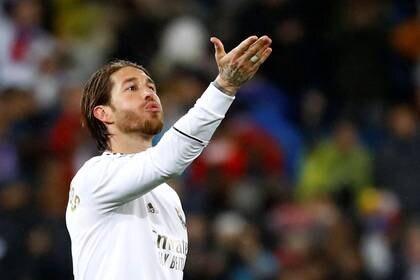 Sergio Ramos cierra la lista (REUTERS/Juan Medina)