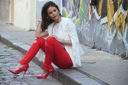 De vuelta al ruedo: Luciana Bianchi, modelo (Foto: Matías Arbotto)
