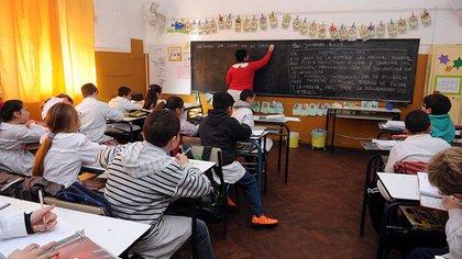 En la media del país hay 12 alumnos por cargo docente primario estatal(Dirección General de Cultura y Educación Bs. As.)