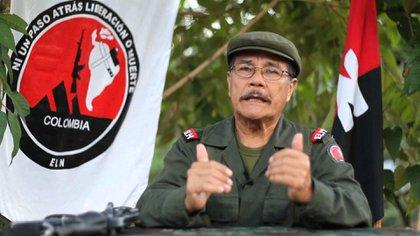 """Nicolás Rodríguez Bautista, alias """"Gabino"""", comandante del ELN"""
