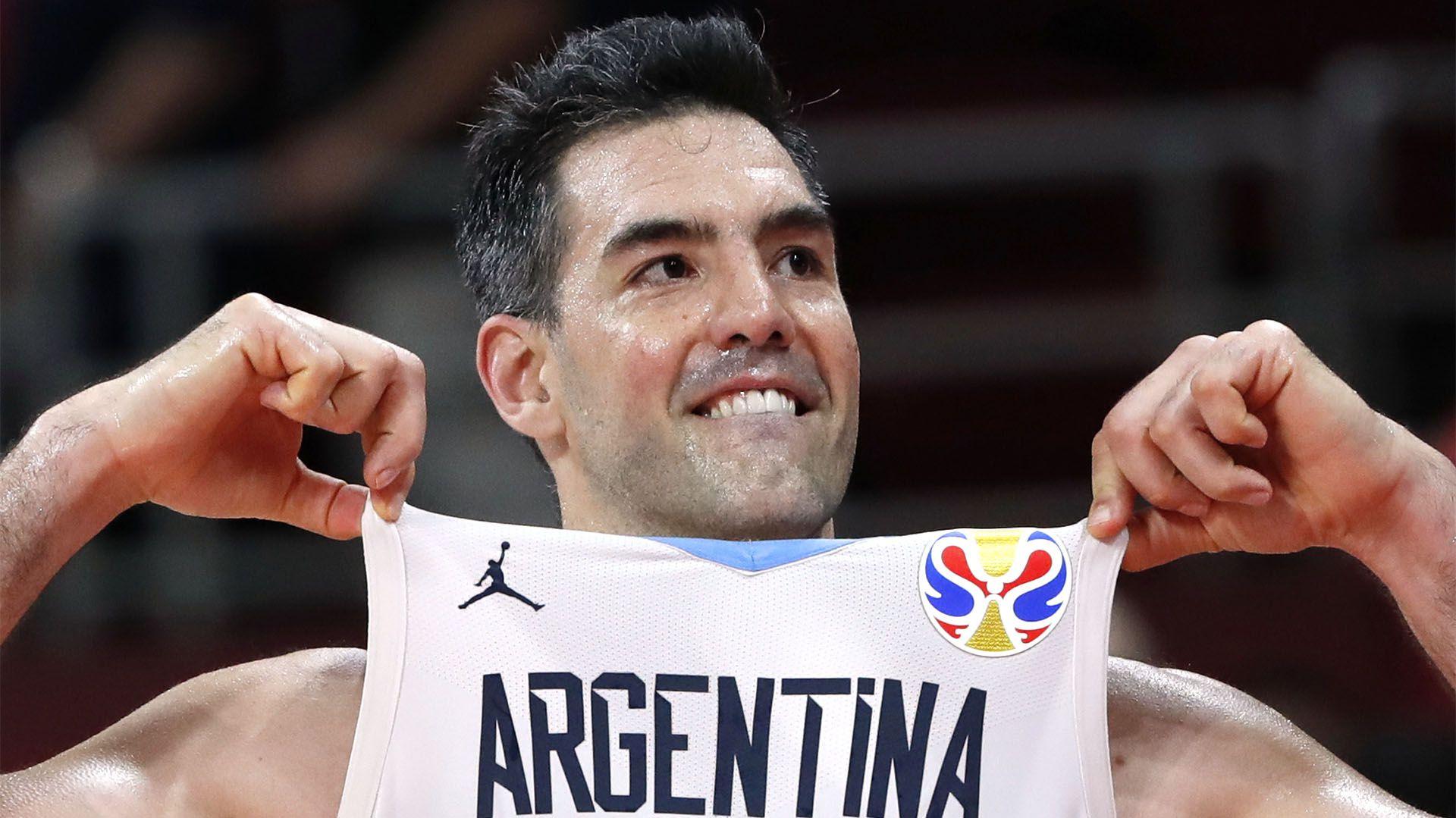 Luis Scola, la gran figura de Argentina durante el Mundial de China(REUTERS/Kim Kyung-Hoon)