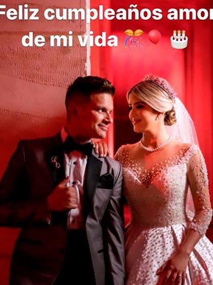 La pareja se habría casado en diciembre de 2019