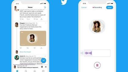 Twitter trabaja en nuevos espacios de audio y conversaciones solo con mencionado