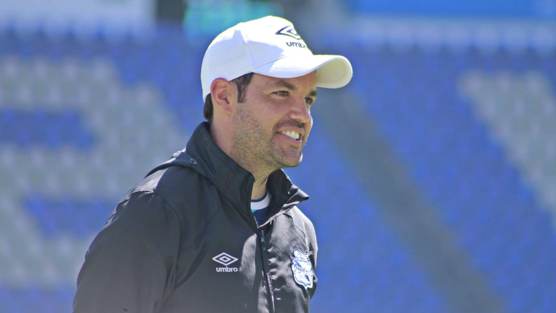 Nicolás Larcamón (Foto: Cortesía/ Club Puebla)